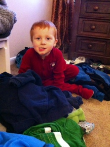 There is a common thread among parents when it comes to laundry!